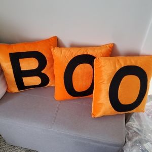 Set of 3 Halloween Decor Pillows